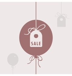 Symbol of sale vector