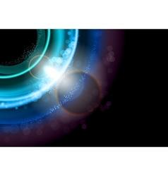Background blue dark vector