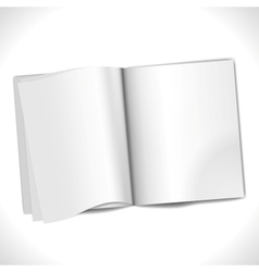 Blank page vector
