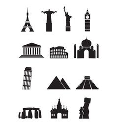 World sights vector