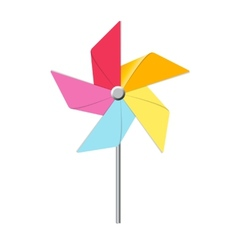 Windmill toy vector