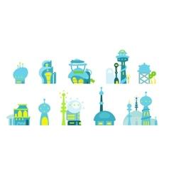 City future fantastic vector
