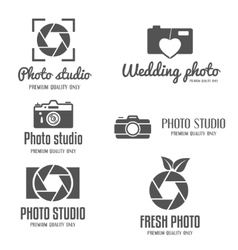 Set of vintage and modern logo icon emblem vector