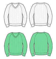 Sweater vector