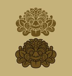Java kalamakara ornament vector