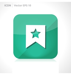 Favourite icon vector