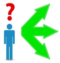 Choosing a way vector