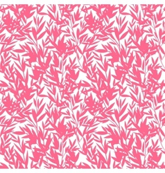 Floral bamboo seamless pattern vector
