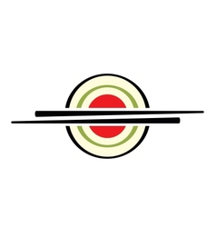 Sushi sign vector