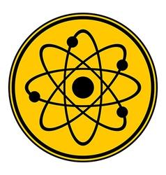 Atom button vector