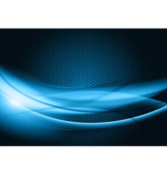 Abstract background blue color vector