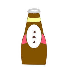 Chocolate syrup vector