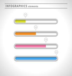 Download bars and progress indicators vector