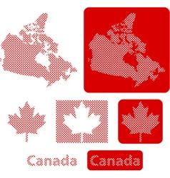 Canada balls vector