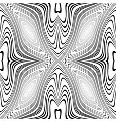 Design monochrome whirl movement background vector