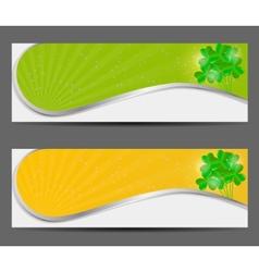 Saint patricks day banner vector