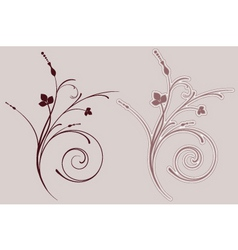 Decorative flourish vector