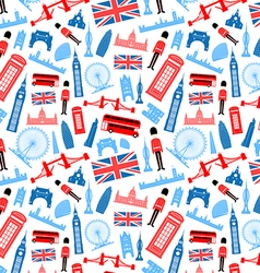 London england seamless pattern vector