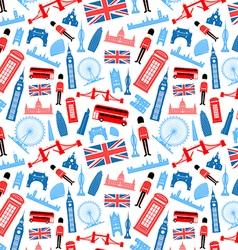 London england seamless pattern vector