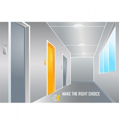Make the right choice vector