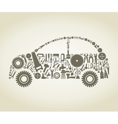 Tool the car vector