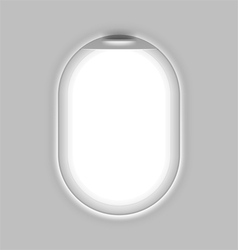 Aircrafts window vector