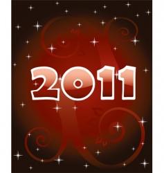 Numbers 2011 vector