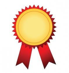 Winner badge vector