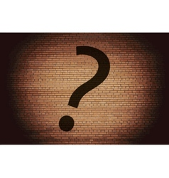 Question mark flat modern web button and space for vector