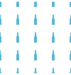Unique bottle seamless pattern vector
