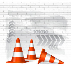 Under construction concept background vector