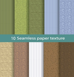 Paper seamless texture background set 2 vector