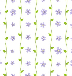 Bright floral wallpaper vector
