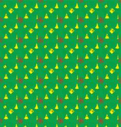 New year and christmas texture vector