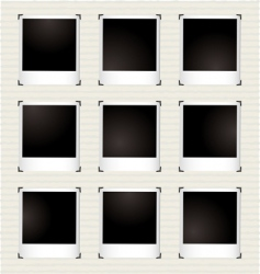 Instant picture gallery vector