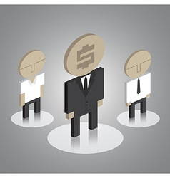 Business man icons vector