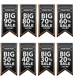 Big sale best offer badge sticker banner label vector