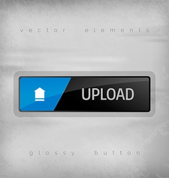 Upload button vector
