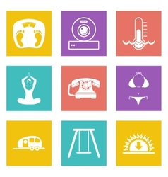 Icons for web design set 10 vector
