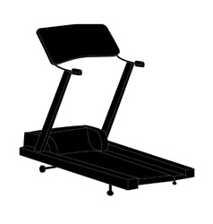 Sports trainer simulator isolated vector