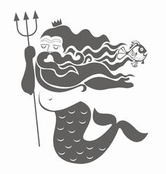 Ocean king neptune vector