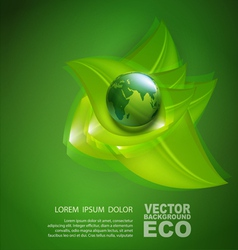 Abstract background for ecological design vector
