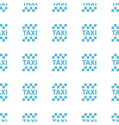 Unique taxi seamless pattern vector