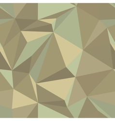 Geometric triangle mosaic pattern vector