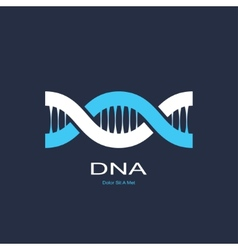 Symbol of dna vector