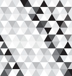 Black triangle pattern background vector