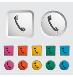 Phone icon 2 vector