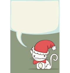 Christmas card for kids vector