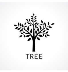 Symbol of tree vector