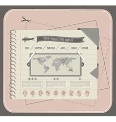 Travel infographic design vector